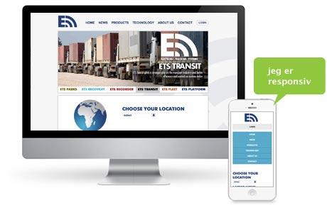ETStrack nettside